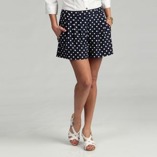 Vince Camuto Womens Polka Dot Angle Pocket Shorts FINAL SALE