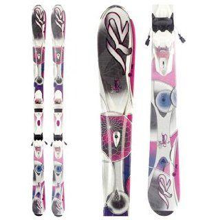 Skis + Marker ER3 10.0 Bindings Womens 2012   146