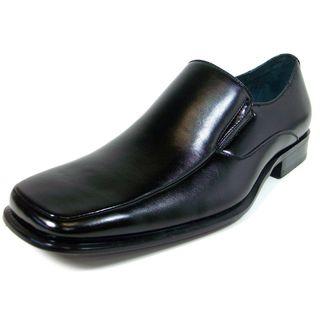 Delli Aldo Mens Square Toe Classic Loafers