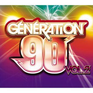 GENERATION 90 VOLUME 2   Compilation   Achat CD COMPILATION pas cher