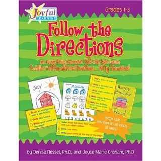 Joyful Learning: Follow the Directions!: 180 Quick Daily Exercises