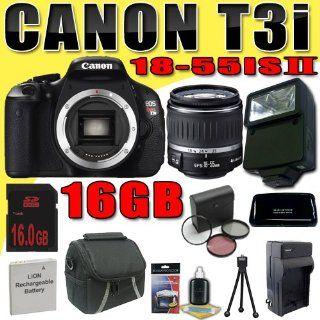 Canon EOS Rebel T3i 18 MP CMOS Digital SLR Camera w/ EF S