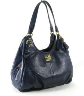Coach Madison Leather Maggie Shoulder Hobo Bag Purse Tote