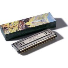 Hohner Harmonica   Echo 56   Key A D Musical Instruments