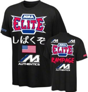 MMA ELITE UFC 144 Rampage Jackson Walkout T Shirt [Black