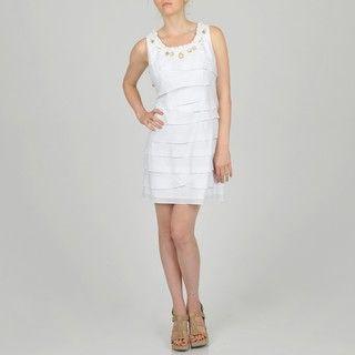Fashions Womens Plus Size Tiered Dress