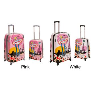 Rockland Las Vegas 2 piece Lightweight Hardside Spinner Luggage Set