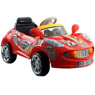 Lil Rider Red Racer Battery Powered Sports Car with Remote