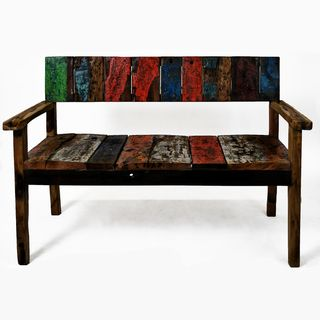 Ecologica Reclaimed Wood Gan Bench