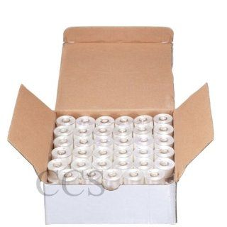 144 Prewound Bobbins for Brother Embroidery Machine Size A