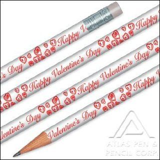 Happy Valentines Day Pencils   144 pencils per order Office Products