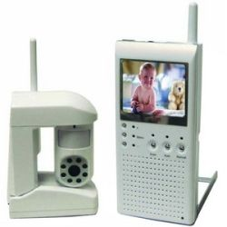 see QSW25C 2.4GHz Wireless Color Portable Monitoring System