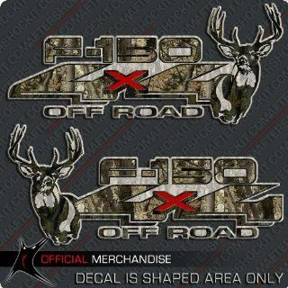 F 150 4x4 Whitetail Deer Truck Sticker Decal Camouflage