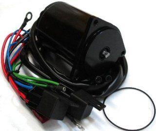 Tilt/Trim Motor for Yamaha 70, 90, 115, 150, 200 HP: Sports & Outdoors