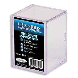 Ultra Pro 150 Count 2 Piece Plastic Box