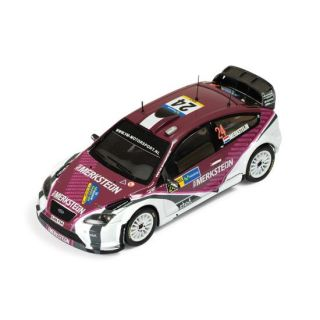 MODELE REDUIT MAQUETTE IXO 1/43 FORD Focus RS WRC 07   Rally Catalunya