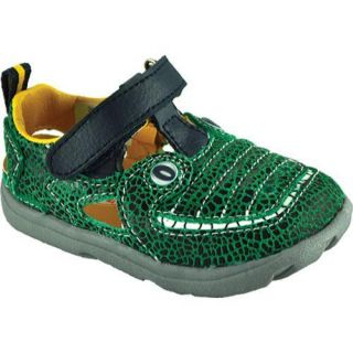 Boys Zooligans Jacques the Gator Crackle Green/Black
