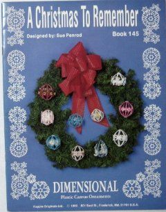 To Remember (Dimensional Plastic Canvas Ornaments, #145): Books