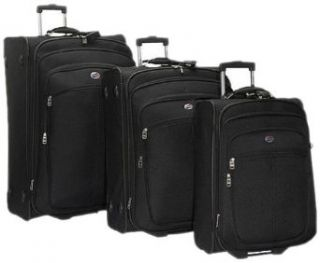 American Tourister 150 Series 3 Piece Set,Black,One Size
