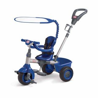 Little Tikes 3 in 1 Navy Blue Trike