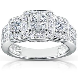 14k White Gold 1ct TDW Diamond Engagement Ring (H I, I1 I2