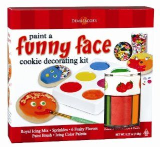 Dean Jacobs Funny Face Cookie Painting Kit, 5.5 Ounce (Pack of 3