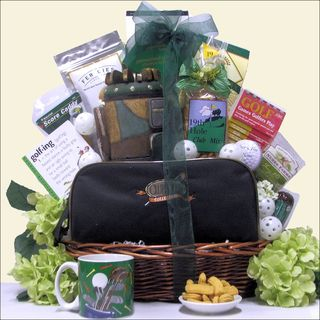 GreatArrivals Hole In One Golf Gift Basket