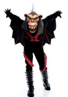 Adult the Wicked of Oz Flying Monkey Costume: Clothing