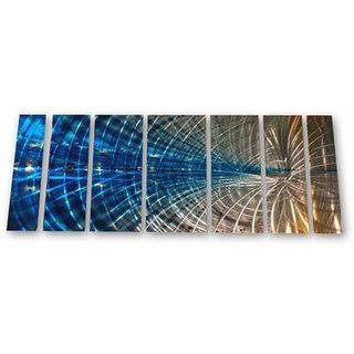 Ash Carl Winsome Web 7 piece Metal Wall Art Set
