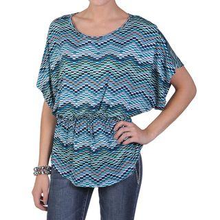 Tressa Designs Womens Contemporary Plus Short sleeve Knit Top