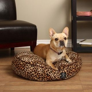 Harry Barker Small Round Safari Pet Bed (Eco Friendly)