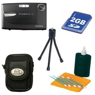 Fujifilm FinePix Z20FD 10MP Black Digital Camera with Bonus Kit