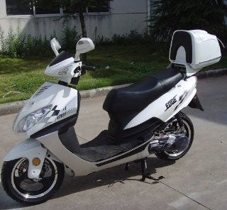 Edge TPGS 818 Gas 150cc Moped Scooter w/ Rear Mounted