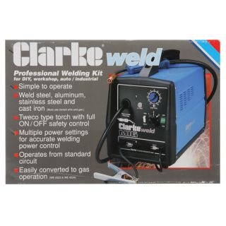 Clarke WE6524 180EN Fluxcore/MIG Wire Welder