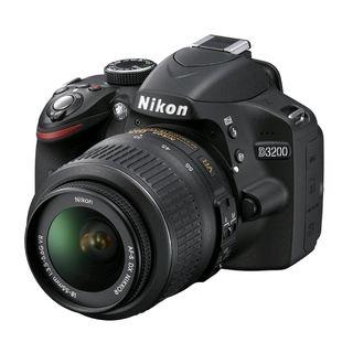 Nikon D3200 Digital SLR Camera With AF S DX NIKKOR 18 55mm 13.5 5.6G