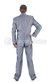 Businessman s ahead. rear view.  Stock Photo © Konstantin