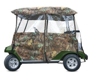 Classic® Deluxe Camo 2   Passenger 4   Sided Golf Cart
