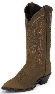 Justin Mens Apache Western Boots   Bay Apache J2262 Shoes