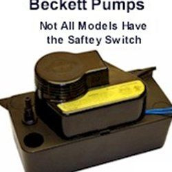 CB151UL Beckett Condensate Pump 120volt