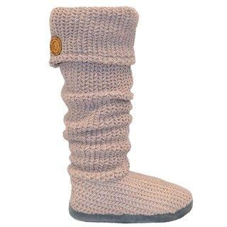 Muk Luks Womens Vintage Cuff Slippers