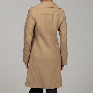 Michael Kors Womens Camel Wool blend Walking Coat FINAL SALE