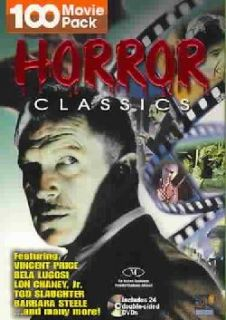Horror Classics   100 Movie Pack (DVD)