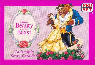 Disneys Beauty and the Beast 95 card Gift Set