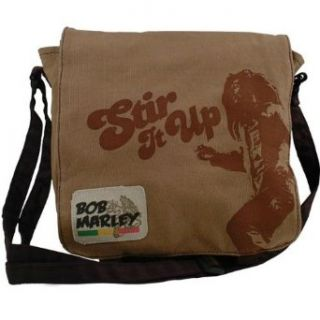 Bob Marley   Stir Messenger Bag 17 X 19 Clothing