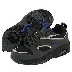 Heelys Streak (Youth/Adult) Charcoal/Black/Light Gray/Royal Blue