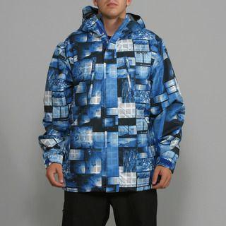 Rip Curl Mens Answer Mazarine Blue Ski Jacket