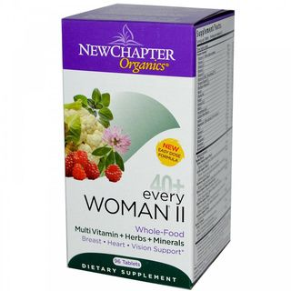 New Chapter Every Woman II Multivitamins (96 Tablets)