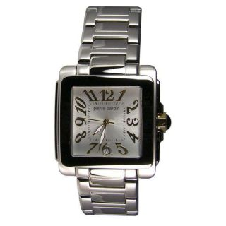 Pierre Cardin Mens Avenue Square face Watch