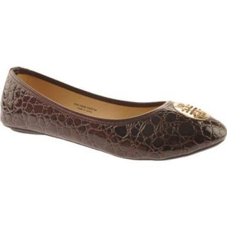 Womens Vecceli Italy BF 102 Brown Compressed Leather