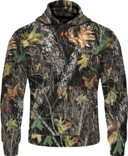 Under Armour Camo Hoody Mossy Oak Hunting Sweatshirt MD